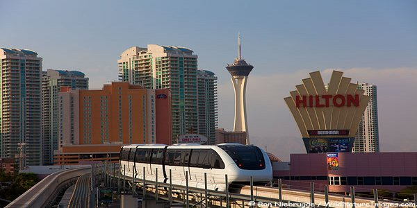The monorail, Las Vegas, Nevada.