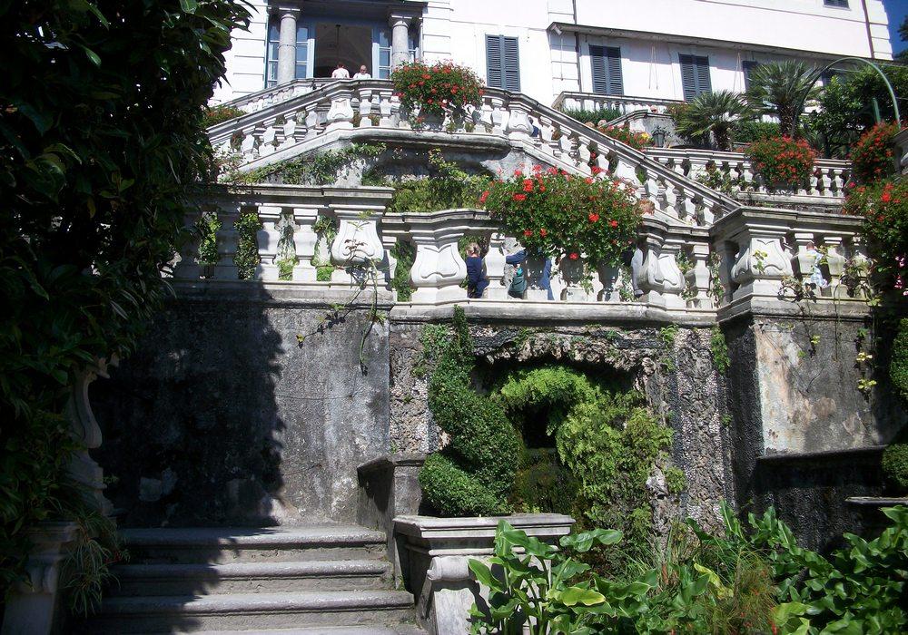 лестница виллы карлотта