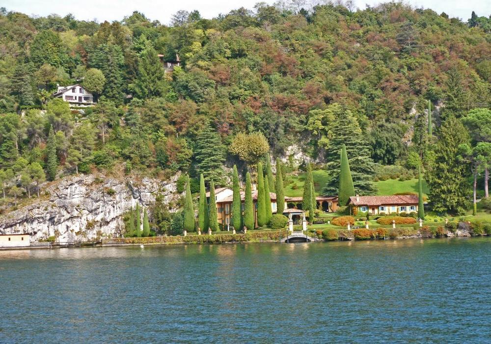 виллы на озере комо