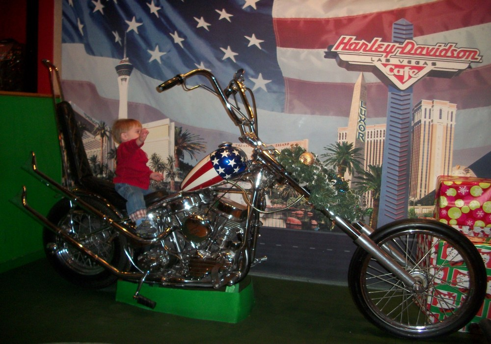 Captain America Easy Rider Chopper Harley Davidson