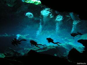 подземная река Сак-Актун в Тулуме