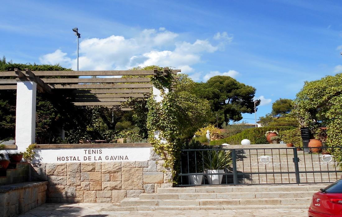 Теннисный клуб отеля Hostal De La Gavina