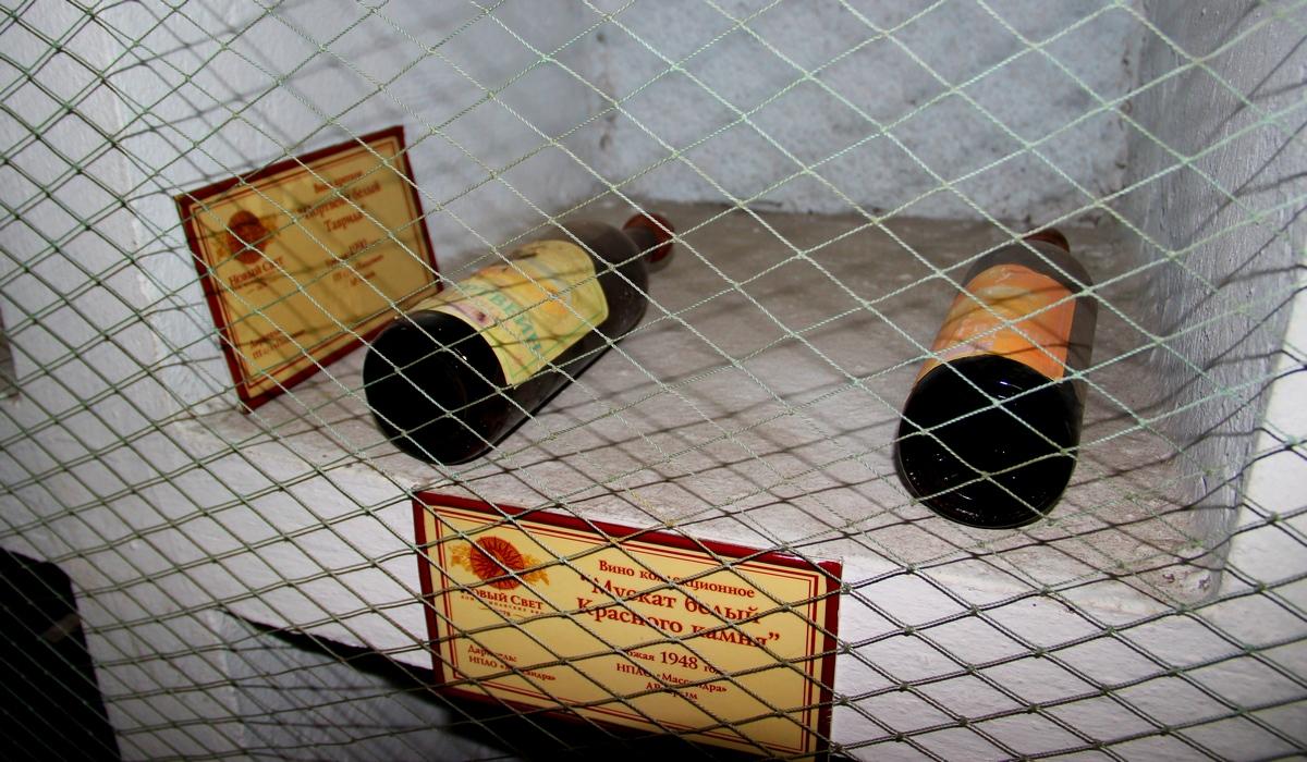 новый свет - музей виноделия