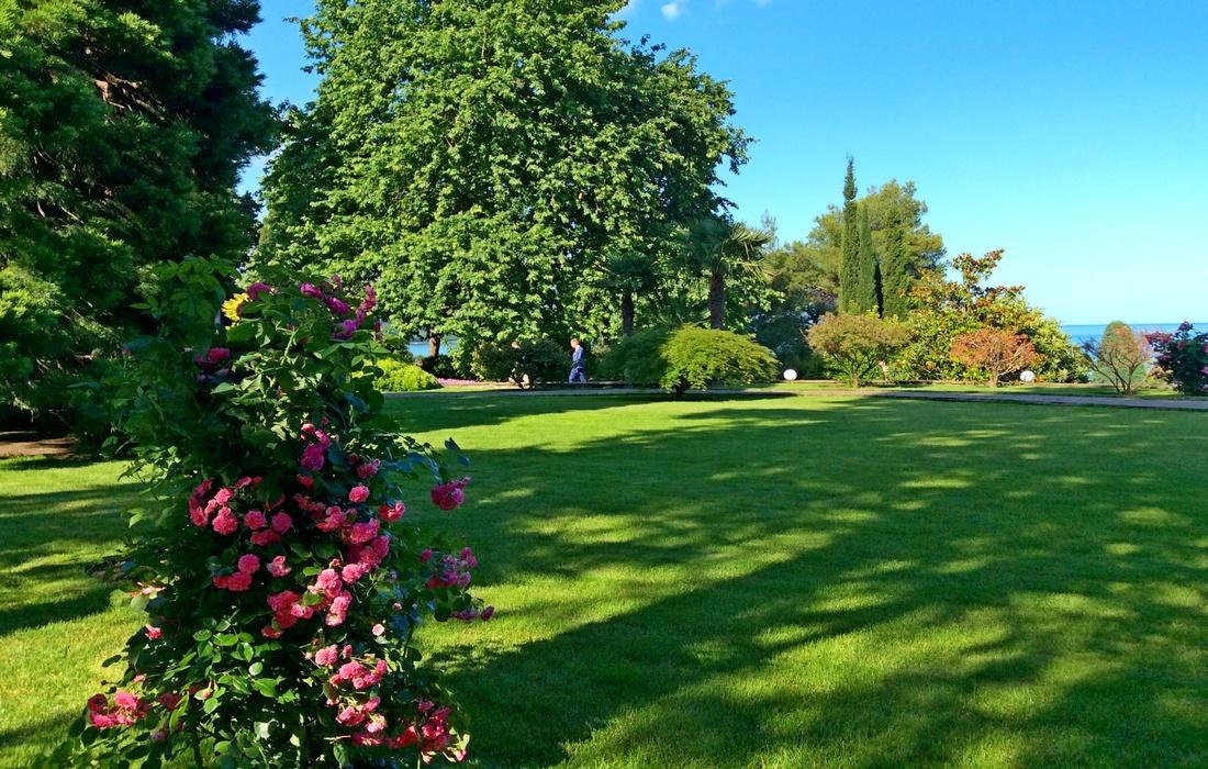 стиль модерн - Английский пейзажный сад