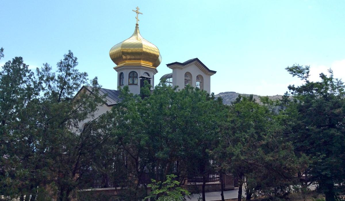 храм святого Луки - Новый Свет