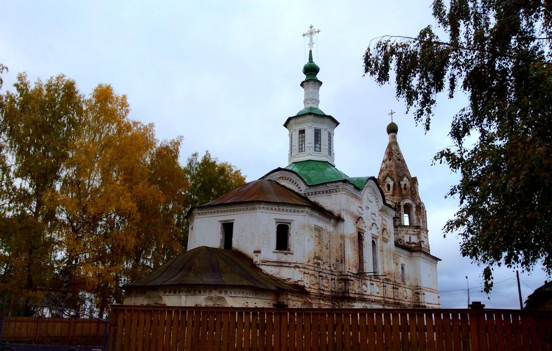 храм Леонтия Ростовского Великий Устюг