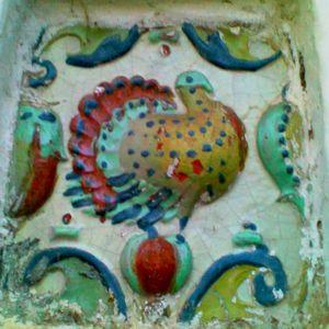 Изразцы на Спасо-Преображенской церкви Великий Устюг