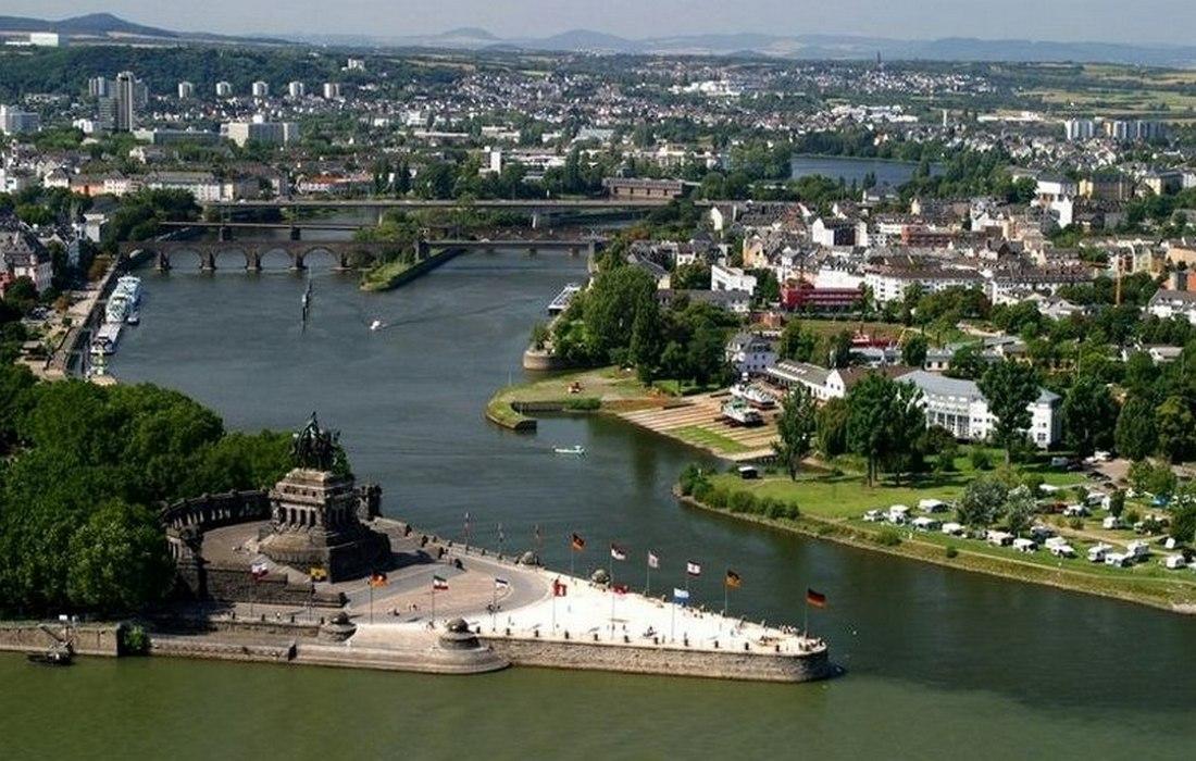 Кобленц - знаменитый «Немецкий угол»