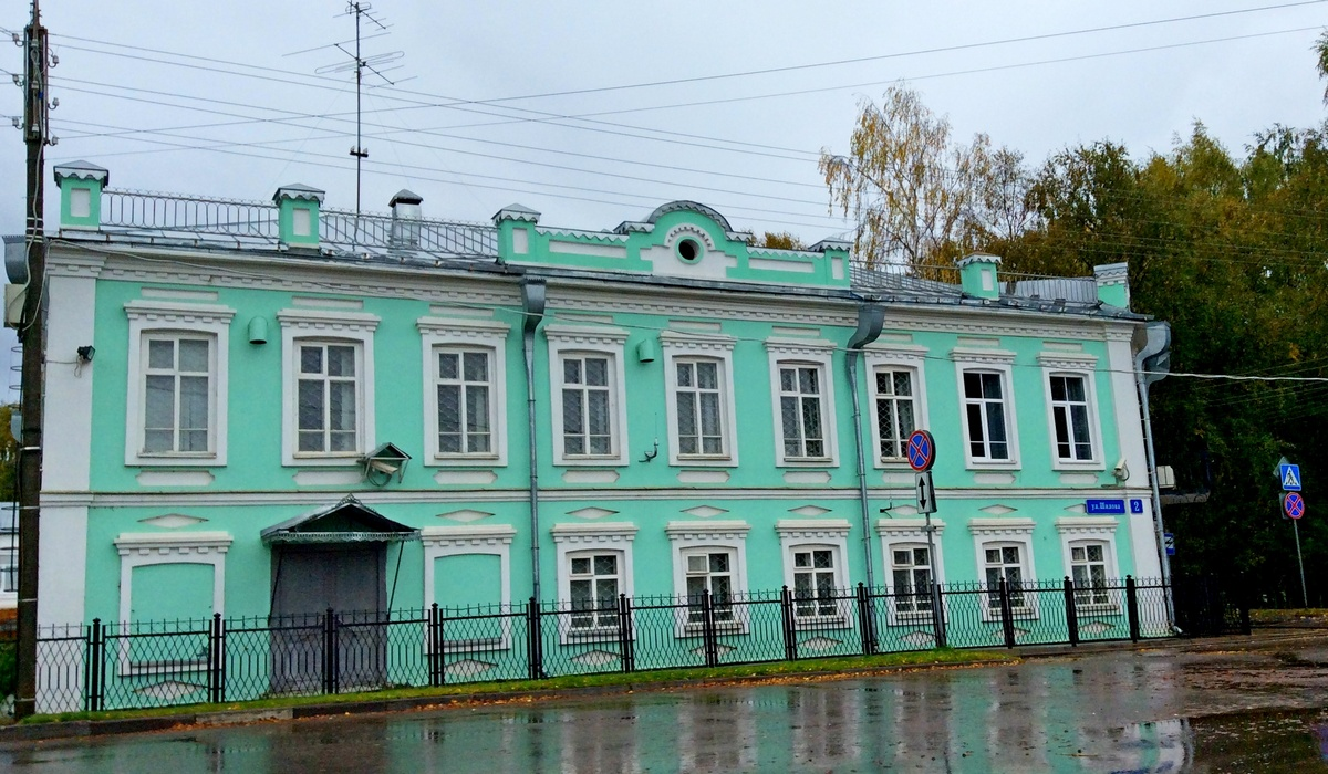 дом Шилова Великий Устюг