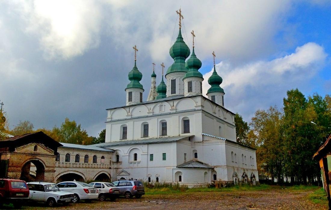 Михайло-Архангельский монастырь Великий Устюг