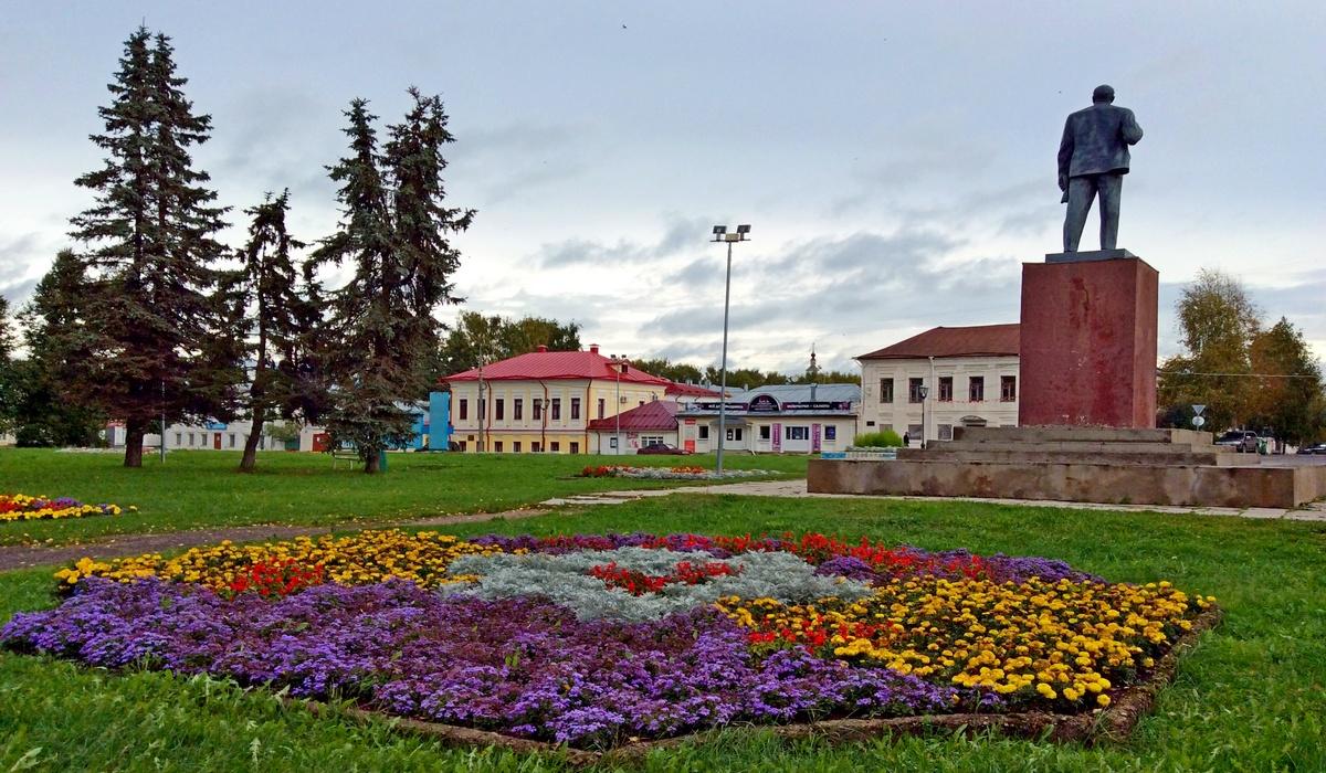 площадь Ленина Великий Устюг