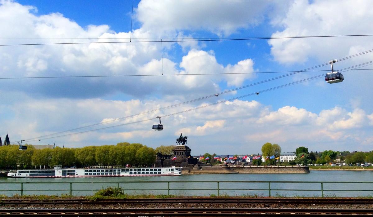 37-метровый памятник кайзеру Вильгельму I