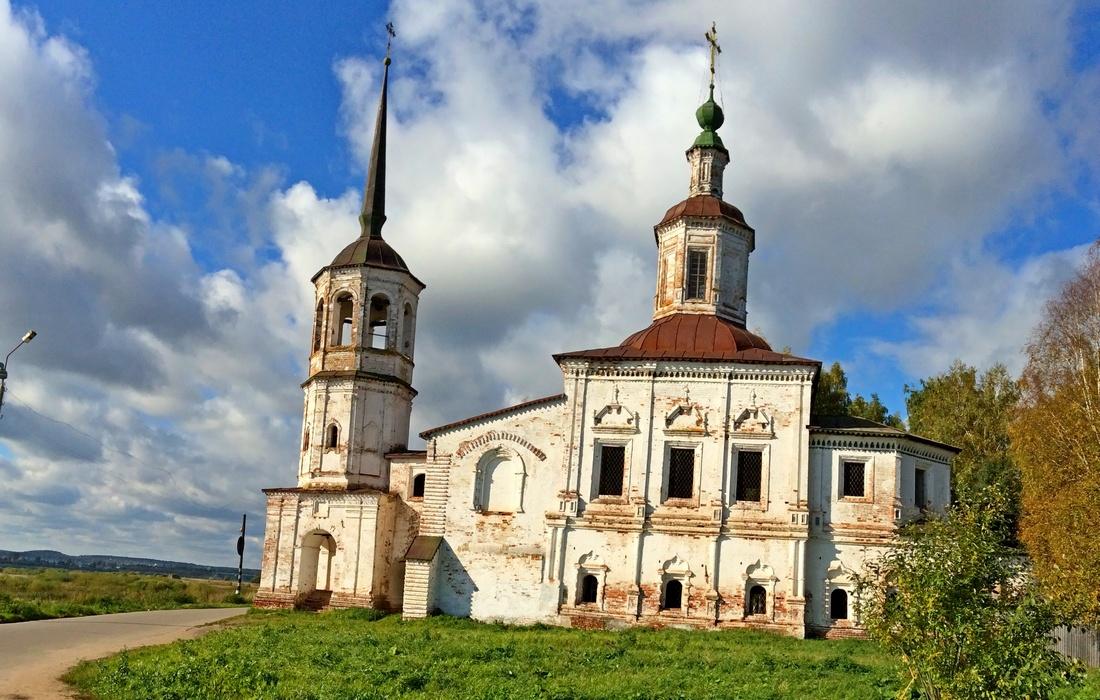 церковь Ипатьевская Великий Устюг