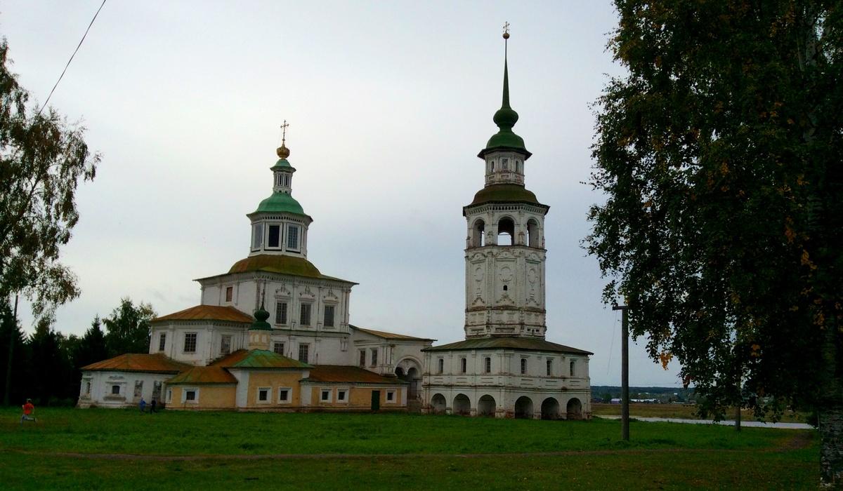 церковь Николая Гостиного Великий Устюг