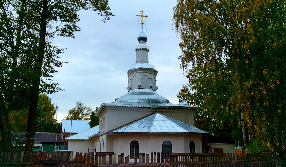 церковь Георгия Победоносца Великий Устюг
