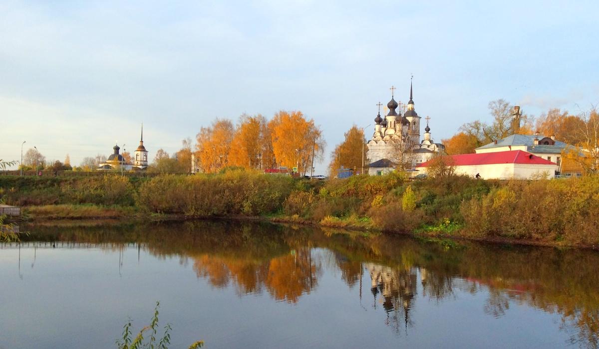 Смольниковское озеро Великий Устюг