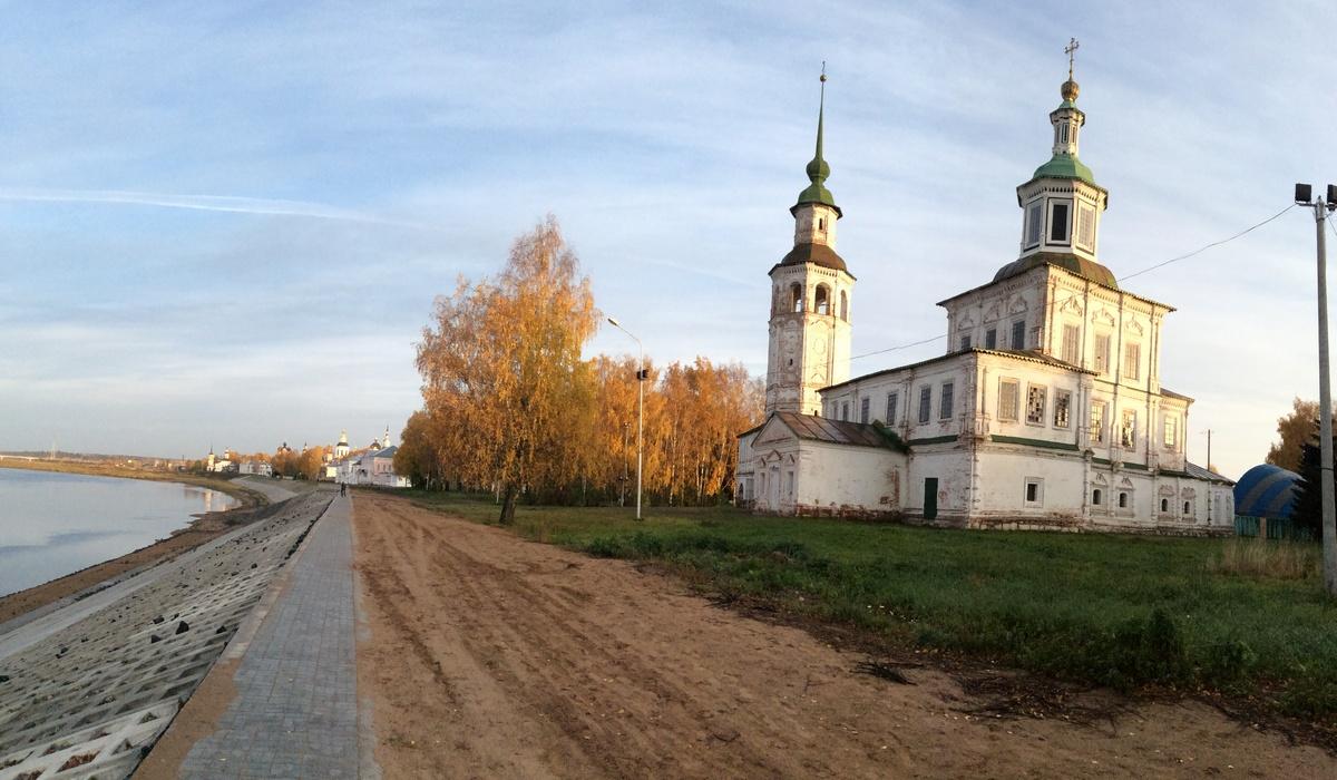 Никольская церковь Великий Устюг
