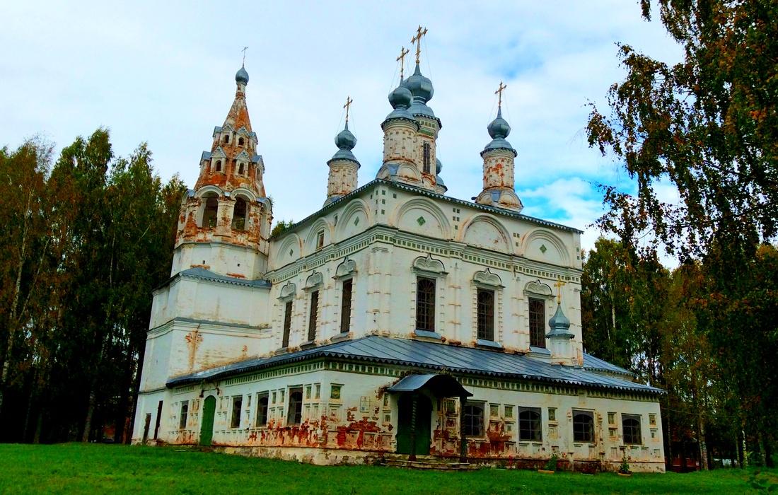 Спасо - Преображенская церковь (1689- 96 г) Великий Устюг