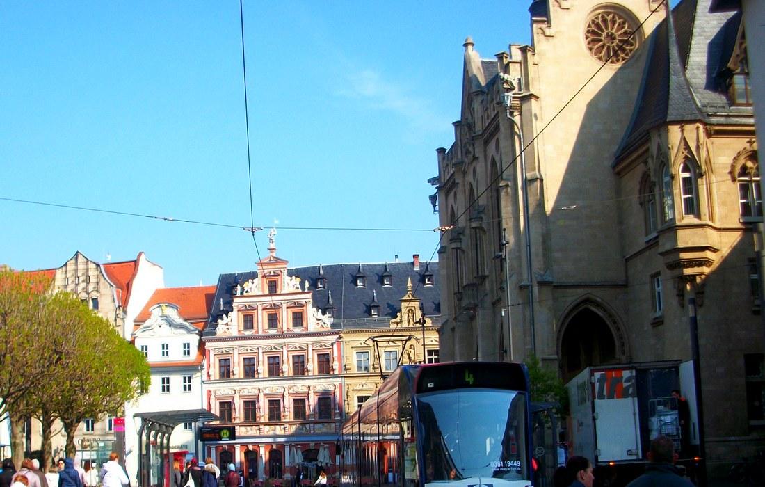 центральная площадь Эрфурта – Fischmarkt