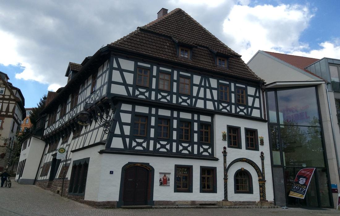дом Мартина Лютера - Айзенах