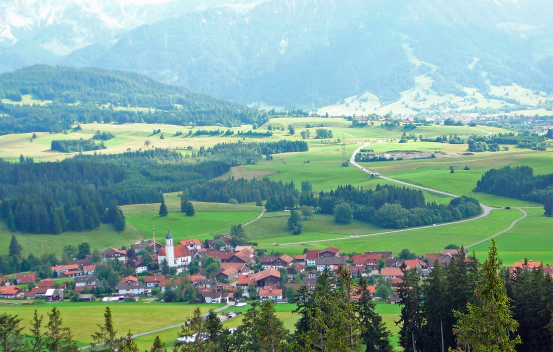 ландшафты тюрингских земель