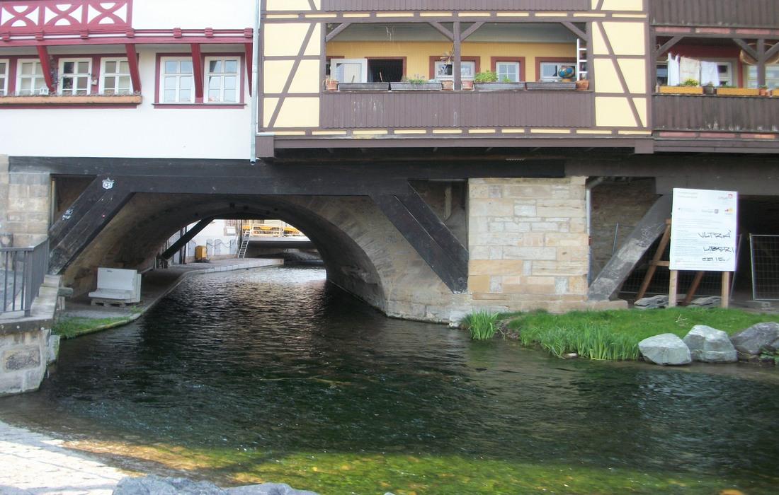 Krämerbrücke / Мост лавочников