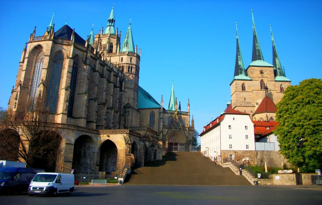 церковь Св. Северия и Эрфуртский Кафедральный Собор
