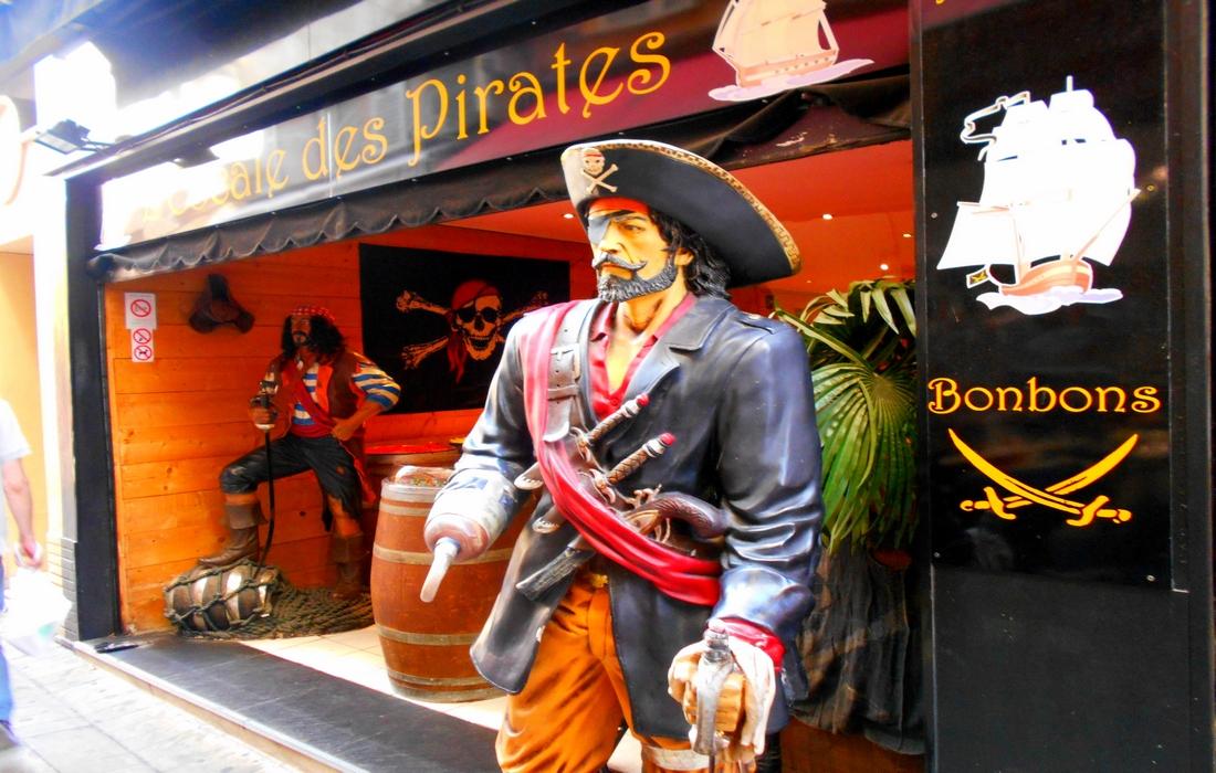 пиратское кафе