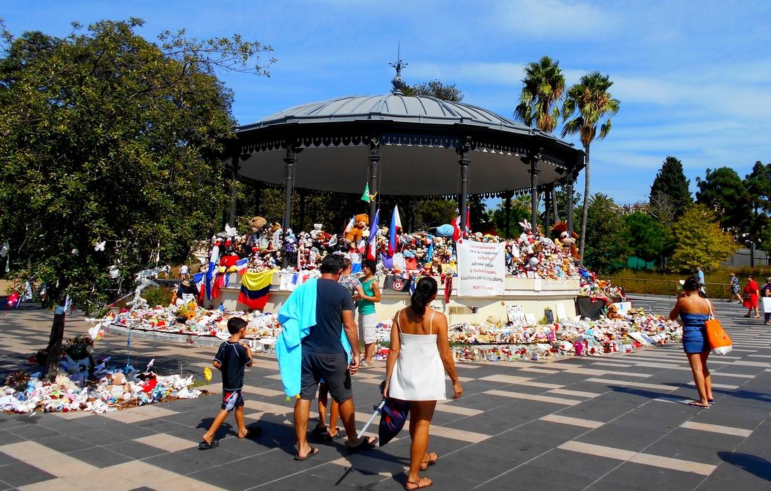 место теракта в Ницце