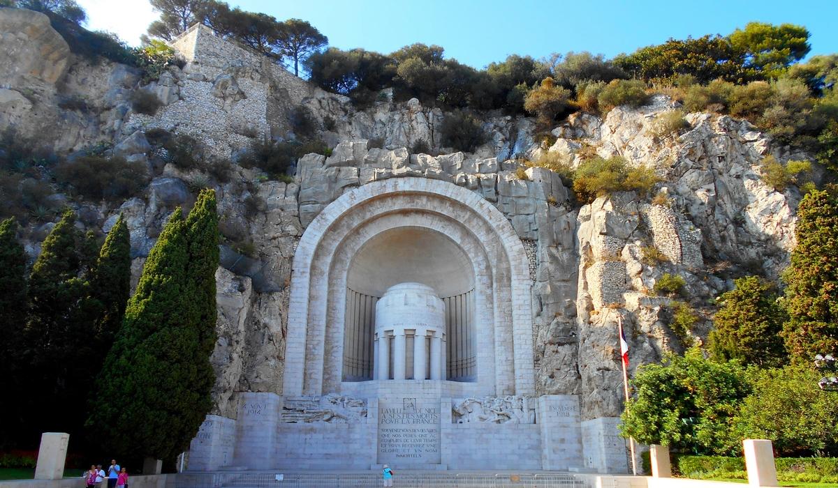 монумент жертвам первой мировой войны - ницца