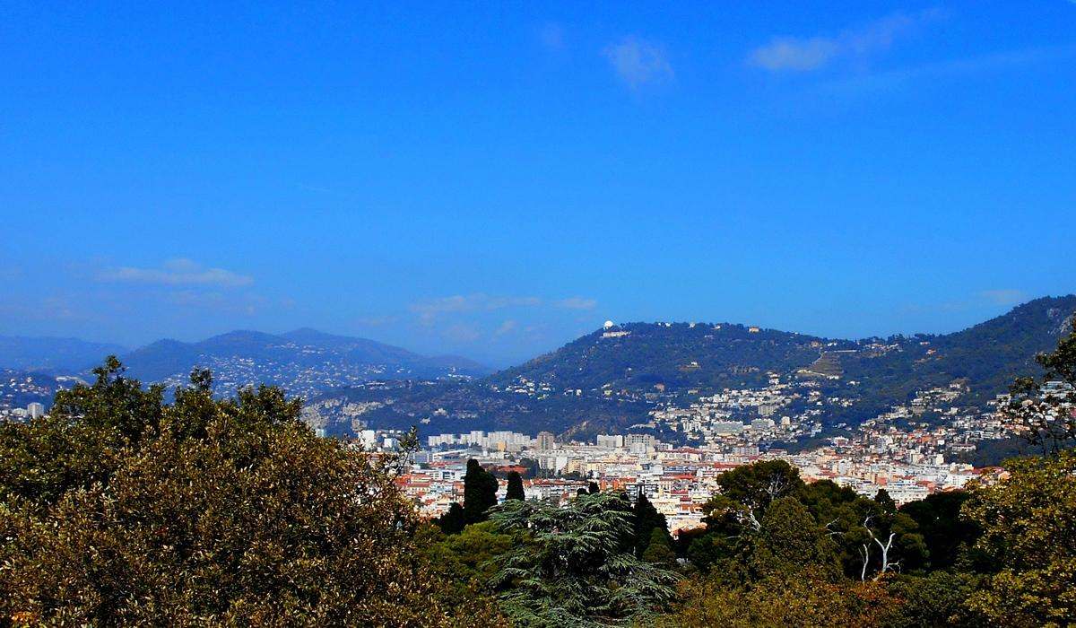 панорама Ниццы