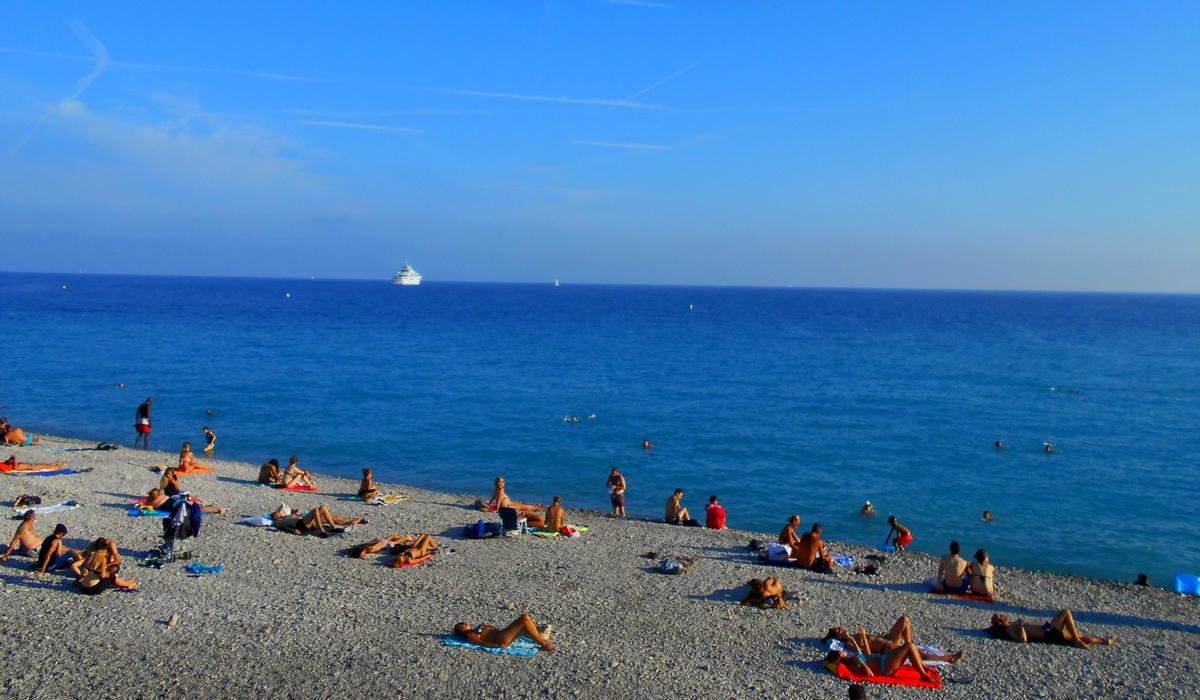 пляж - Ницца