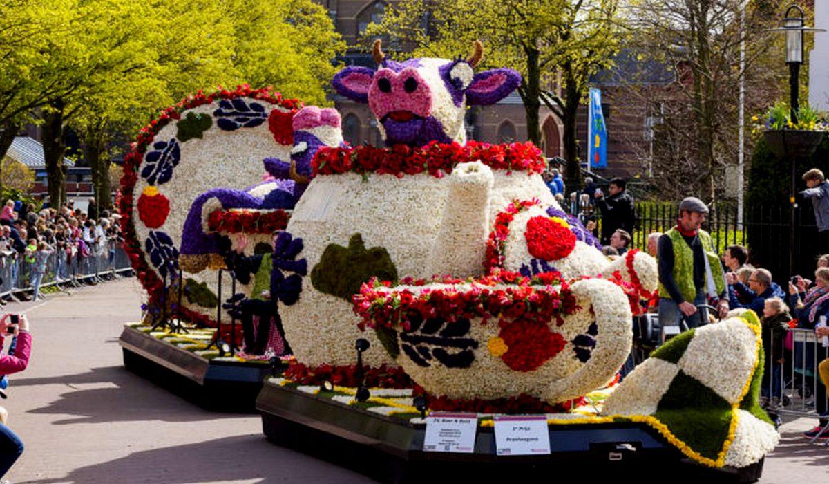 цветочная корова