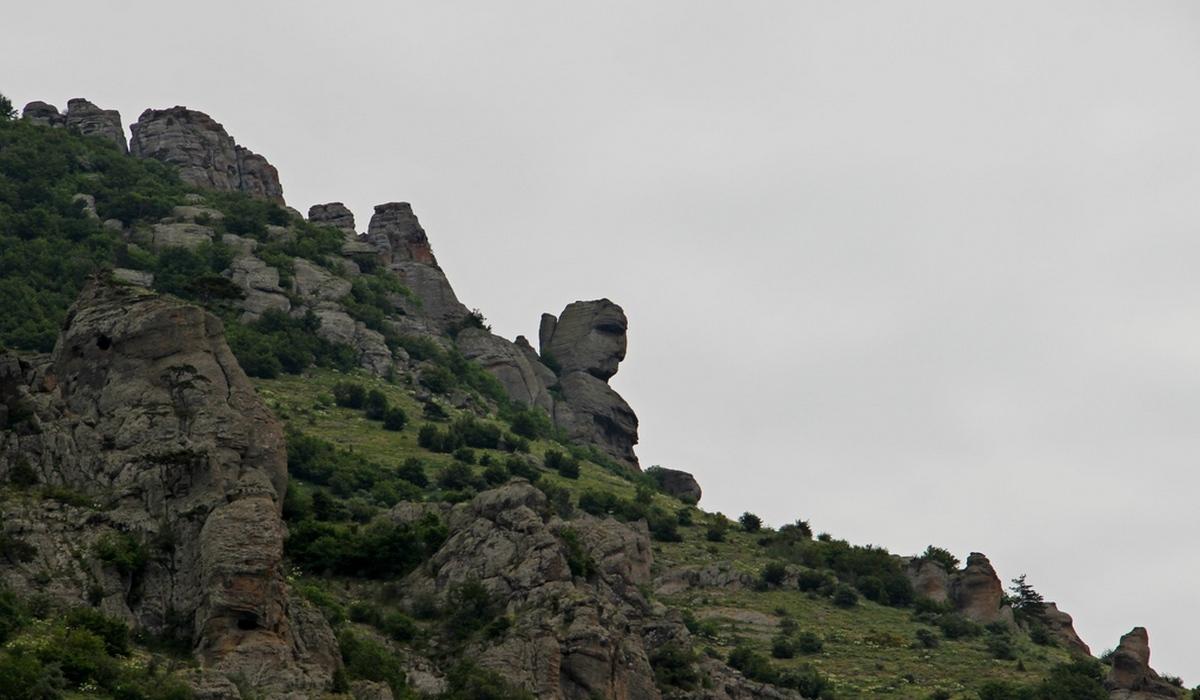 Сфинкс - долина привидений, Крым