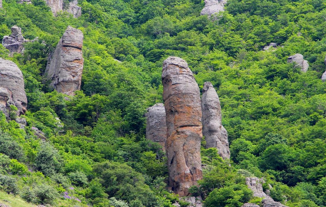 Палец - долина привидений, Крым