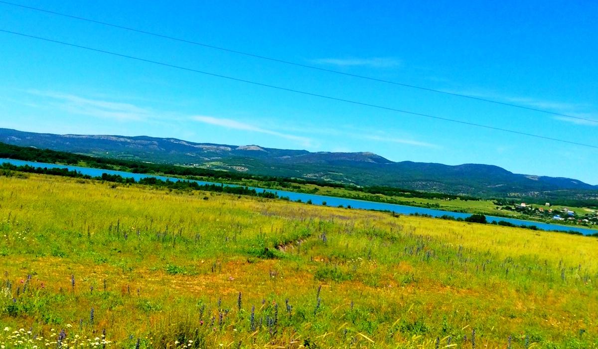 Чернореченское водохранилище - Крым