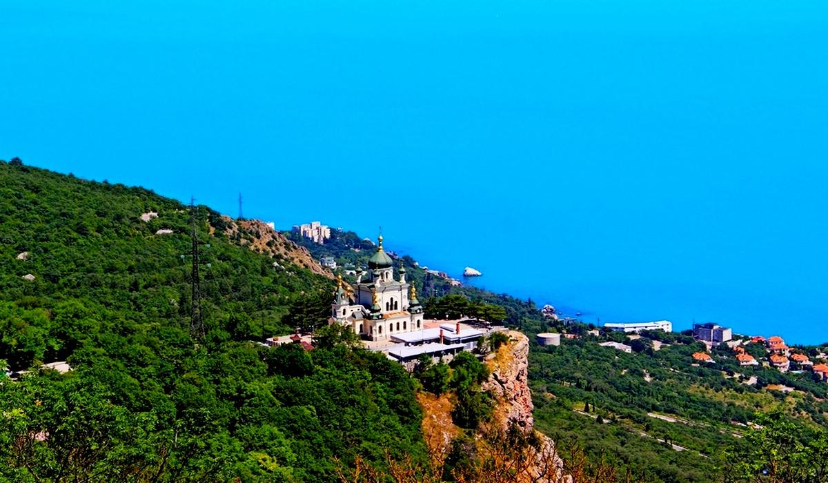 Церковь-жемчужине Крыма (Форос)