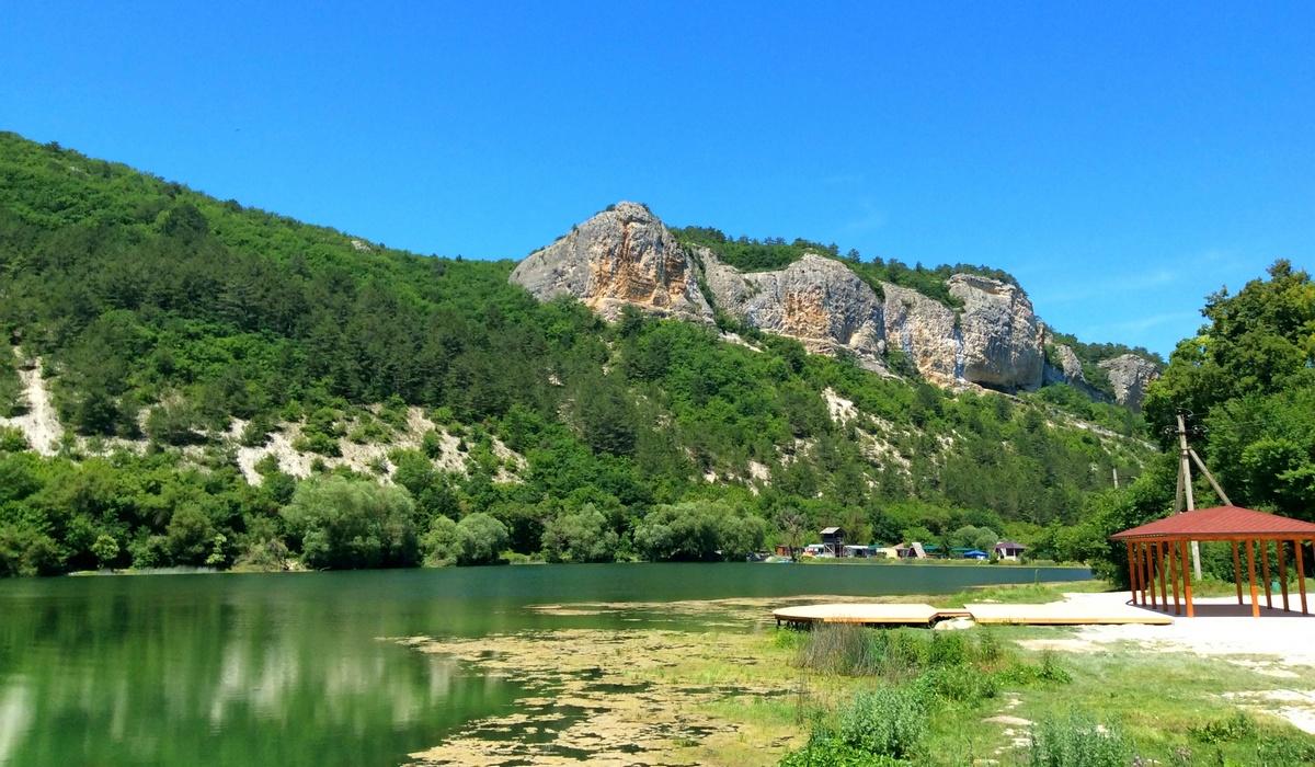 Озеро Мангуп - Крым