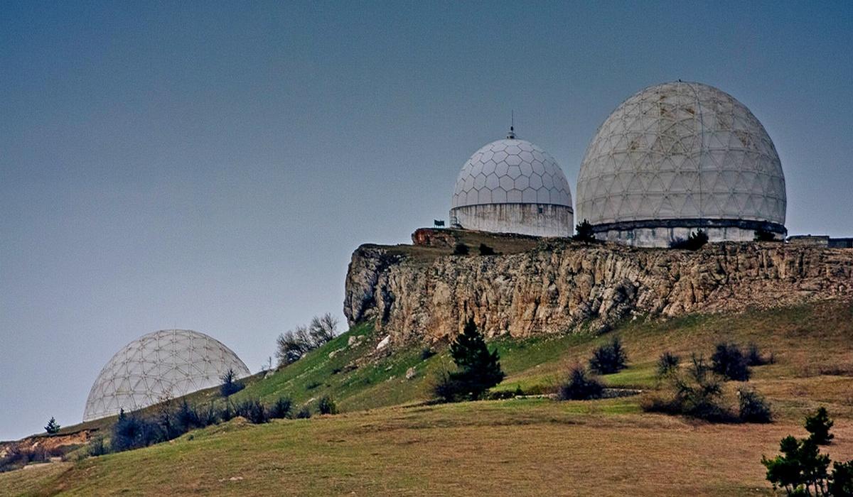 РПУ – радиопрозрачные укрытия, Крым